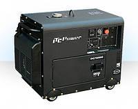 Дизельный генератор однофазный Q-Power DG6000SE 5,0кВт 220В