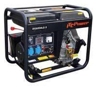 Дизельный генератор однофазный Q-Power DG7500LE 5,5кВт 220В