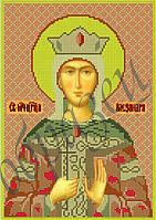 Схема для вышивания бисером икона Св. Мч. Александра КМИ 4101
