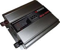 Инвертор Q-Power QPI-1000С-12 1000Вт 12В с зарядным устройством
