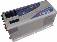 Инвертор напряжения Q-Power QPC+3012GE 3000Вт 12В GenContr BatteryPrioriti