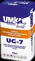Теплоизоляционный клей для блоков UG-7 ТМ «UMKA®» Умка 12 кг