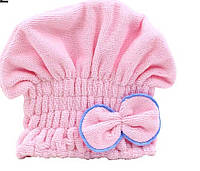 Полотенце-шапка для масок, солярия, бани, сушки на резинке, цвета разные