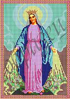 Схема для вышивания бисером икона Дева Мария КМИ 4207
