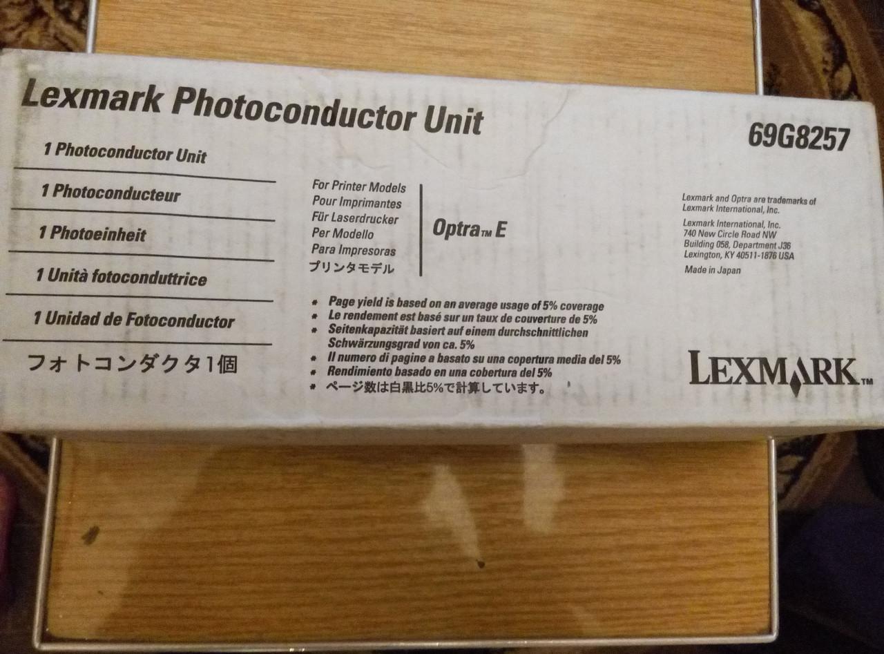 Photoconductor Unit lexmark Optra E 69G8257 оригинал