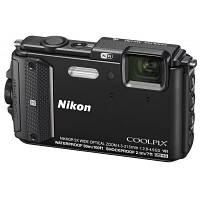 Цифровой фотоаппарат Nikon Coolpix AW130 Black (VNA840E1)