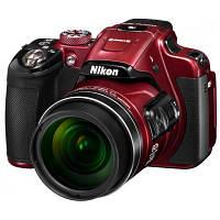 Цифровой фотоаппарат Nikon Coolpix P610 Red (VNA761E1), фото 1