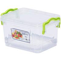 Контейнер пищевой AL-PLASTIK  Lux №2, 0,8л, с ручками (53227)