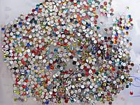 Стразы для ногтей ss6 Mixed colors, стекло, 1440шт.(1,9-2,0мм)