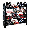 Стойка для обуви Stackable Shoe Rack, 4 полки