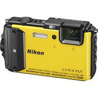 Цифровой фотоаппарат Nikon Coolpix AW130 Yellow (VNA844E1), фото 1