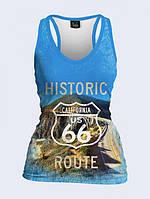 Майка-борцовка Historic Route 66