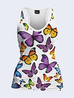 Майка-борцовка Бабочки
