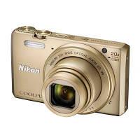 Цифровой фотоаппарат Nikon Coolpix S7000 Gold (VNA802E1), фото 1