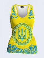 Майка-борцовка Малый Герб Украины