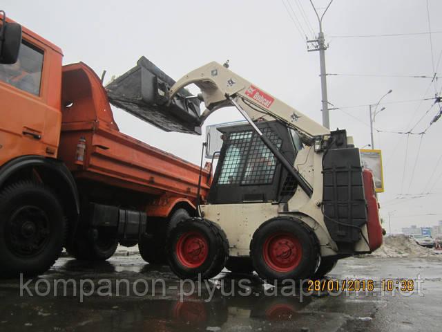 Уборка снега в Киеве, расчистка снега