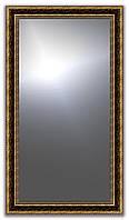 Рамка для зеркала 40х80 см коричневая