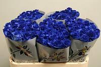 Синие розы 80 см оптом и в розницу, blue rose
