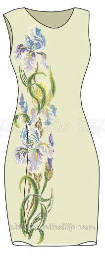 Заготовка плаття для вишивки