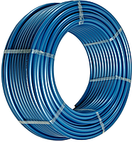 """Труба полиэтиленовая 25*2,0 мм 6 атм синяя первичное сырье """"ВорсклаПласт"""""""