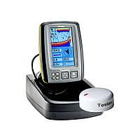 Беспроводной цветной эхолот Fish-finder TF-640 GPS+COMPASS