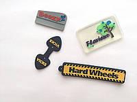 Шильды PVC и лейбы из силикона от производителя, бегунки на молнию., фото 1