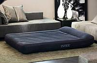 Надувной матрас Intex 66768 + сумка (137х191х30см)