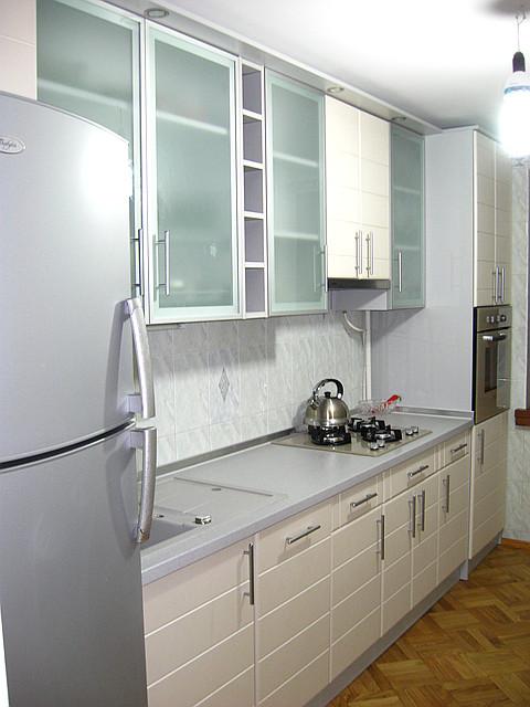 "Кухня ""Белый Шелк"""