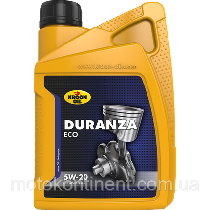 Моторное масло KROON OIL Duranza ECO 5W-20 синтетическое для бензин.моторов Ford EcoBoost 1л. , фото 2