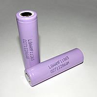 Литий-ионный Li-ion  аккумулятор 18650 LG LGAAMF11865 3,7В 2200 мАч, фото 1