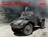 1:35 Сборная модель бронеавтомобиля Panzerspahwagen P 204 (f), ICM 35374