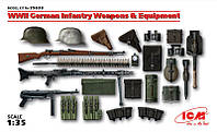 1:35 Вооружение и амуниция немецкой пехоты, ICM 35638