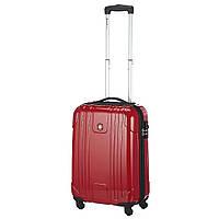 Чемодан на колесах Swiss Gear, красный, 39х53,5х23 см., 38 л., вес 2,7 кг