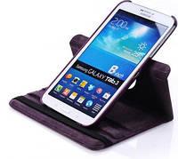Фиолетовый чехол для Galaxy Tab 3 8.0  на поворотном кольце