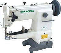 Zoje ZJ2628 Одноигольная рукавная машина с унисонным продвижением материала под окантовку