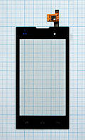 Тачскрин сенсорное стекло для Fly IQ4418 Era Style 4 black