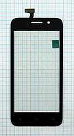 Тачскрин сенсорное стекло для Fly IQ446 Magic black