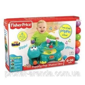 Музыкальная игрушка Fisher-Price Muscial Dino