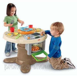 Кухня, стол  Fisher-Price Servin Surprises Kitchen & Table