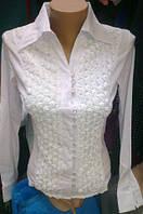 Приталенная  женская блузка