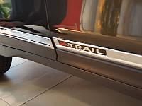 Молдинги верхние на двери Nissan X-Trail 2014+
