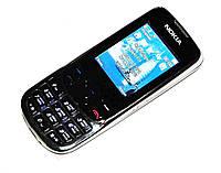 Копия Nokia 6303 (2 sim) металлический корпус кнопочный бюджетный китайский телефон недорого дешево!