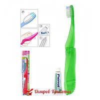 Зубная щетка Дорожная  Компакт Travel-Compact Pierrot 172300076