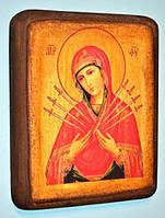 Икона православная Богородицы Семистрельная