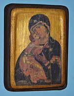 Икона православная большая  Богородица Замилования Вышгородская