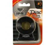 Ароматизатор Aroma Car Disc (черный корпус) Холодный персиковый чай 10г  924008 Sapfire