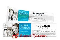 Зубная паста Super Air Flow безопасное отбеливание Organic People, 100 мл 121202353