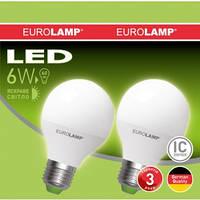 Светодиодная лампа (промо-набор) Eurolamp G45 6W E27 4000K (MLP-LED-G45-06274)
