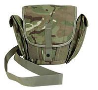 Тактическая сумка для противогаза (Field Pack MTP) армии Великобритании.  Оригинал. ( МТП, мультикам)