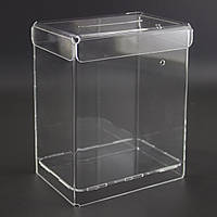 Ящик для пожертвований 200x250x180 (Cash box). Объем 9 литров